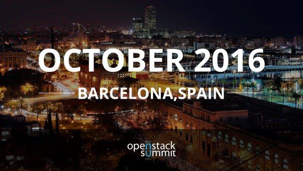 OpenStack Summit 2016 Barcelona